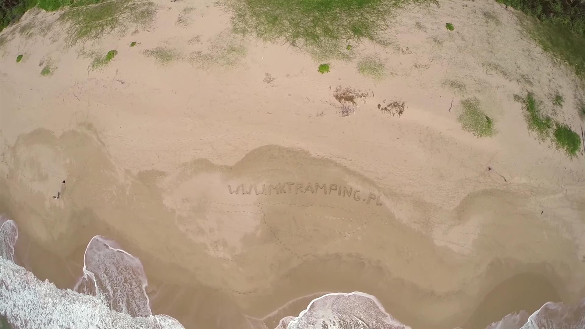 Film przedstawiający podróże z dronem