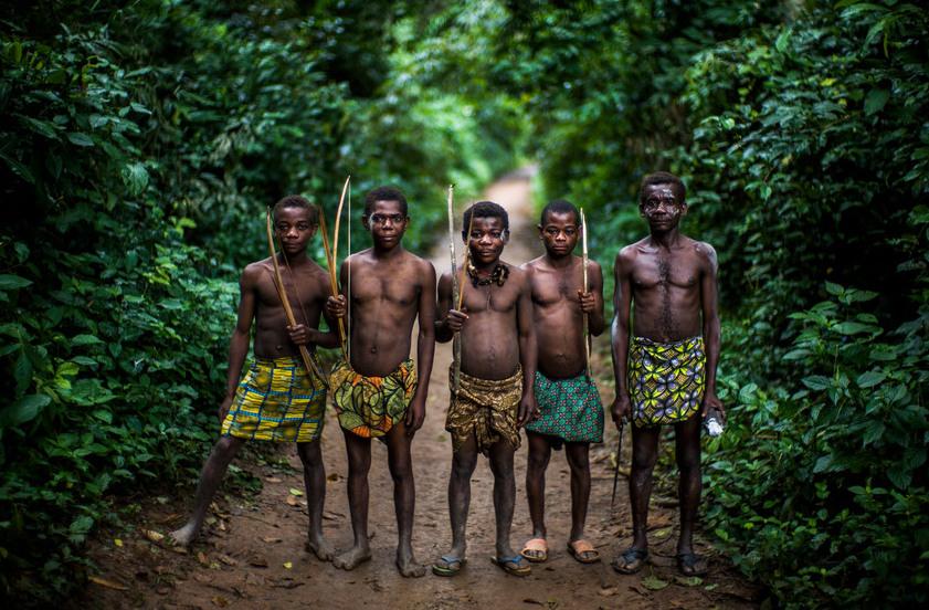 Pigmeje Afryka