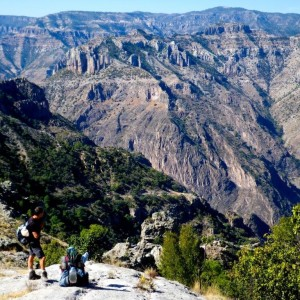 Trekking Copper Canyon