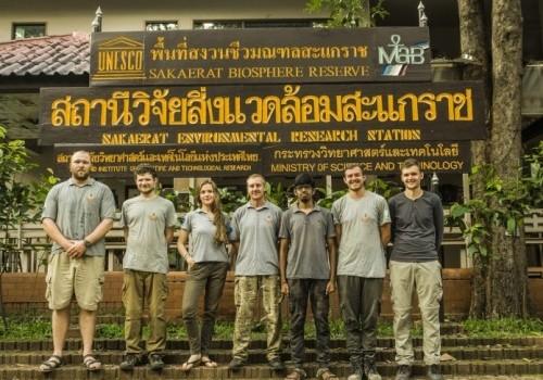 Sakaerat Biosphere Reserve team