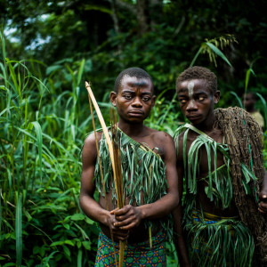 DEMOCRATIC REPUBLIC OF THE CONGO. Ituri Rainforest. December 2015. The Mbuti (Bambuti) Pygmies of the Ituri Rainforest.