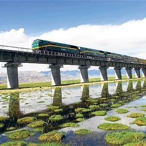 pociąg Pekin - Lhasa