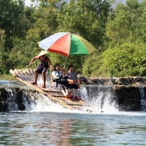 spływ rzeką Li