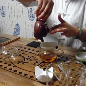 Parzenie herbaty chiny