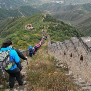 trekking po murze chińskim